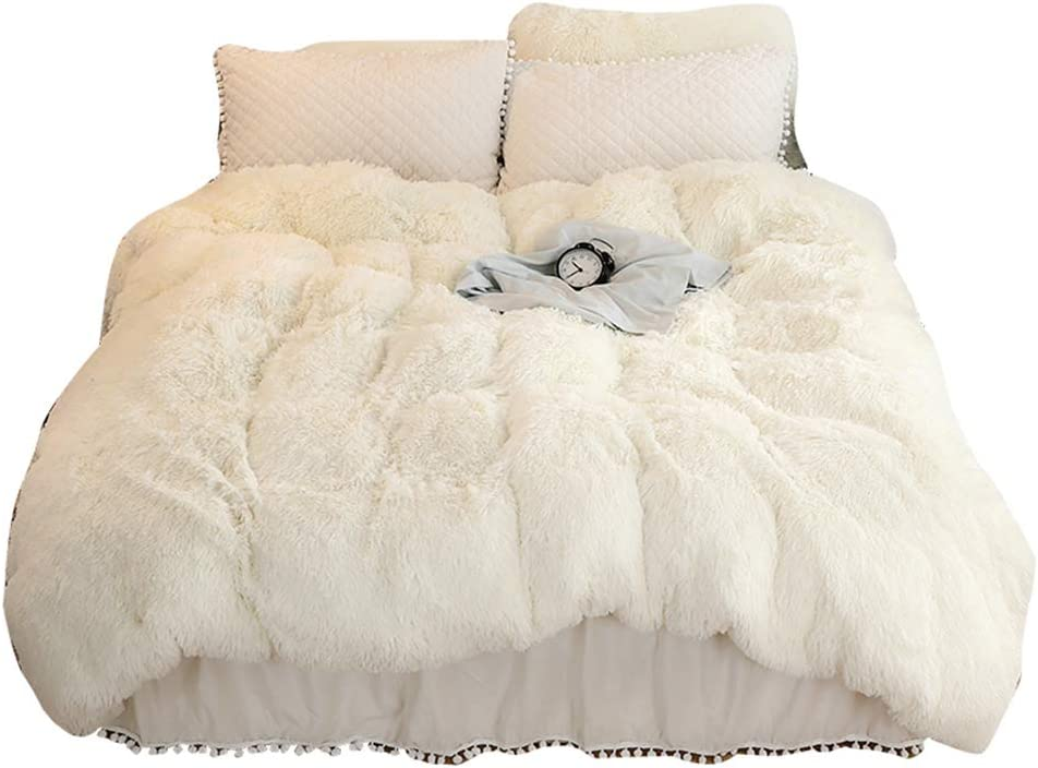 MorroMorn Shaggy Duvet Cover - Luxury Fau Long 1PC Super 1 New product Ranking TOP1 type Soft