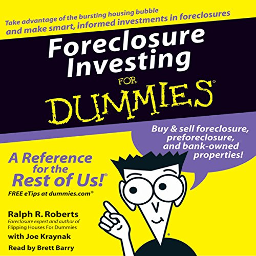 Foreclosure Investing for Dummies Titelbild