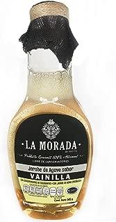La Morada Jarabe de Agave, Vainilla, 345 g