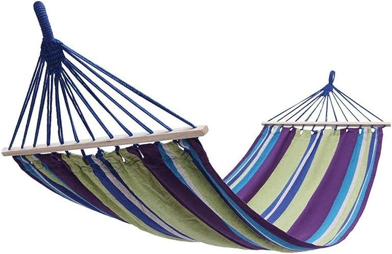 Huijunwenti Hammock Camping for Double and Single - Sac à Dos extérieur intérieur, adapté à la Survie et aux Voyages, Portable, Haute qualité Le dernier Style, Simple