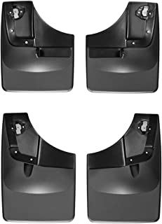 WeatherTech Custom MudFlaps for Ford F-150 - Front & Rear Set Black (110050-120050)