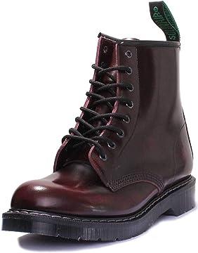 Solovair 8 Eye Derby Boots