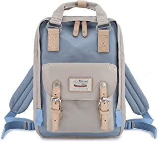 """Himawari Backpack/Waterproof Backpack 14.9"""" College Vintage Travel Bag for Women,13inch Laptop for Student One Size..."""