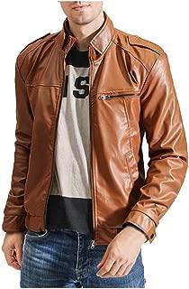 Leather Jacket Boys Lightweight Basic Jacke Bomber Sportswear Flight Fishing Jacket Clothing Men's Motorcycle Jacket