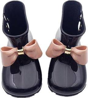 雨靴 レインブーツ 女の子 かわいい 軽量 快適 耐滑 短靴