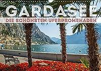 GARDASEE Die schoensten Uferpromenaden (Wandkalender 2022 DIN A3 quer): Erholsame Plaetze mit Seeblick rund um den Lago di Garda (Monatskalender, 14 Seiten )