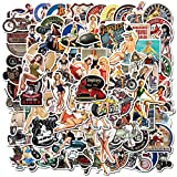 DUOYOU Retro Girl Graffiti Europe and America Sexy Pin Up Girl Stickers Skateboard Laptop Guitar Scr...