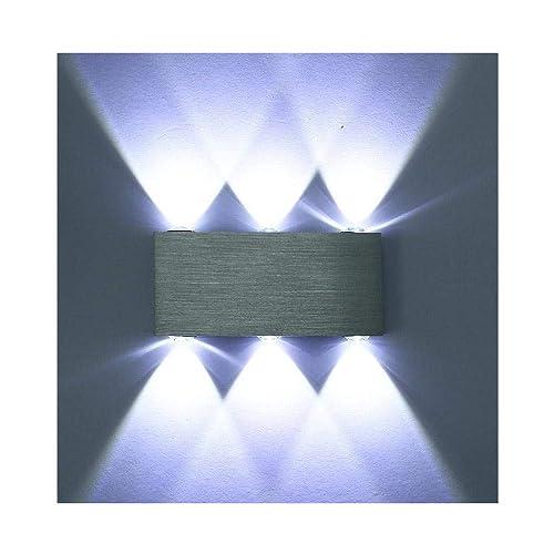 5c8ec9c4be9e Louvra Wall Lights Modern Up and Down Wall Light LED Interior Wall Sconce  Lamp Aluminium Wall