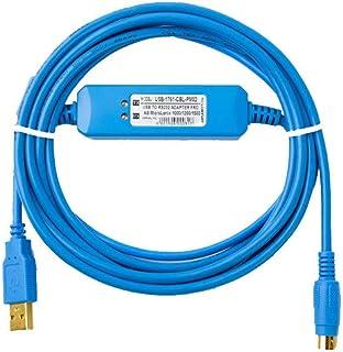 Cable de programación de PLC para Allen Bradley USB 1761 CBL CP3 para AB MicroLogix 1000