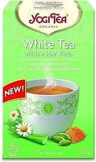 Yogi tea White Tea With Aloe Vera, 30.6 gm
