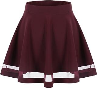 5bfe547997b1ef Amazon.fr : robe courte évasée - Jupes / Femme : Vêtements