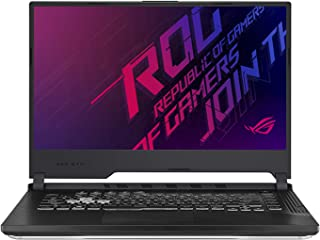 Asus ROG STRIX G G731GT-AU058T-STRIX G Gaming Laptop (Black) - Intel i7-9750H 4.5 GHz, 16 GB RAM, 1000 GB+256GB SSD Hybrid, Nvidia GeForce GTX 1650,  17.1 inches IPS, Windows 10, Eng-Arb-KB