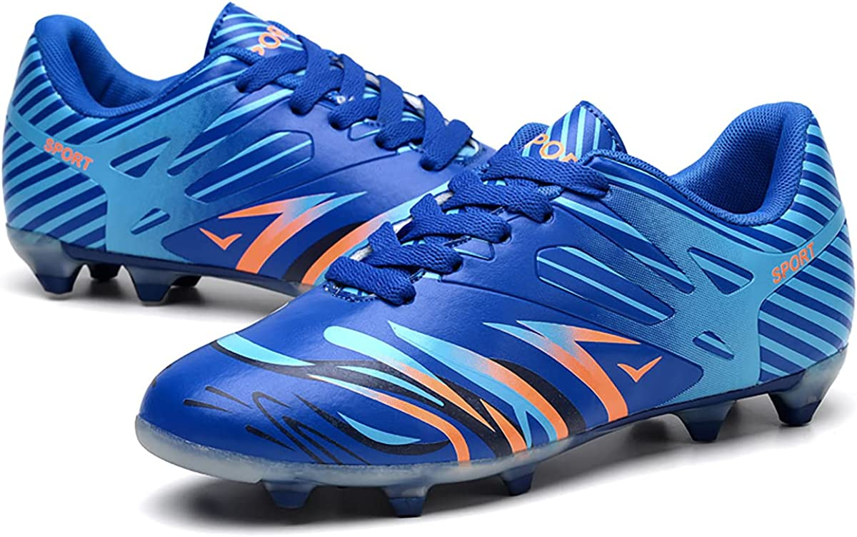 Max 69% OFF TOPAOJC Spiked Football Shoes Outdoor Luxury Sneake and Running Walking