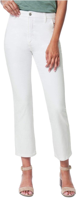 Joe's Jeans Womens The Slim Kick Denim Cropped Trouser Jeans White 29