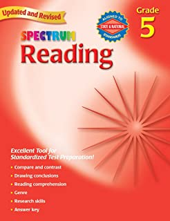 Spectrum Reading, Grade 5