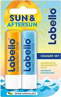 Labello Confezione Doppia, Burrocacao, Summer Mix, 9.6G
