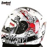 バイクヘルメット冬用 T112 ダブルシールド サイズは選択可 インナー脱着可 オートバイク シールド付き メンズ レディース ハーフ  パイロット オシャレ オールシーズン ジェットヘルメット  オープンフェスヘルメット (XXL)