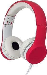 Snug Play+ Kids Headphones Volume Limiting and Audio Sharing Port (Red)
