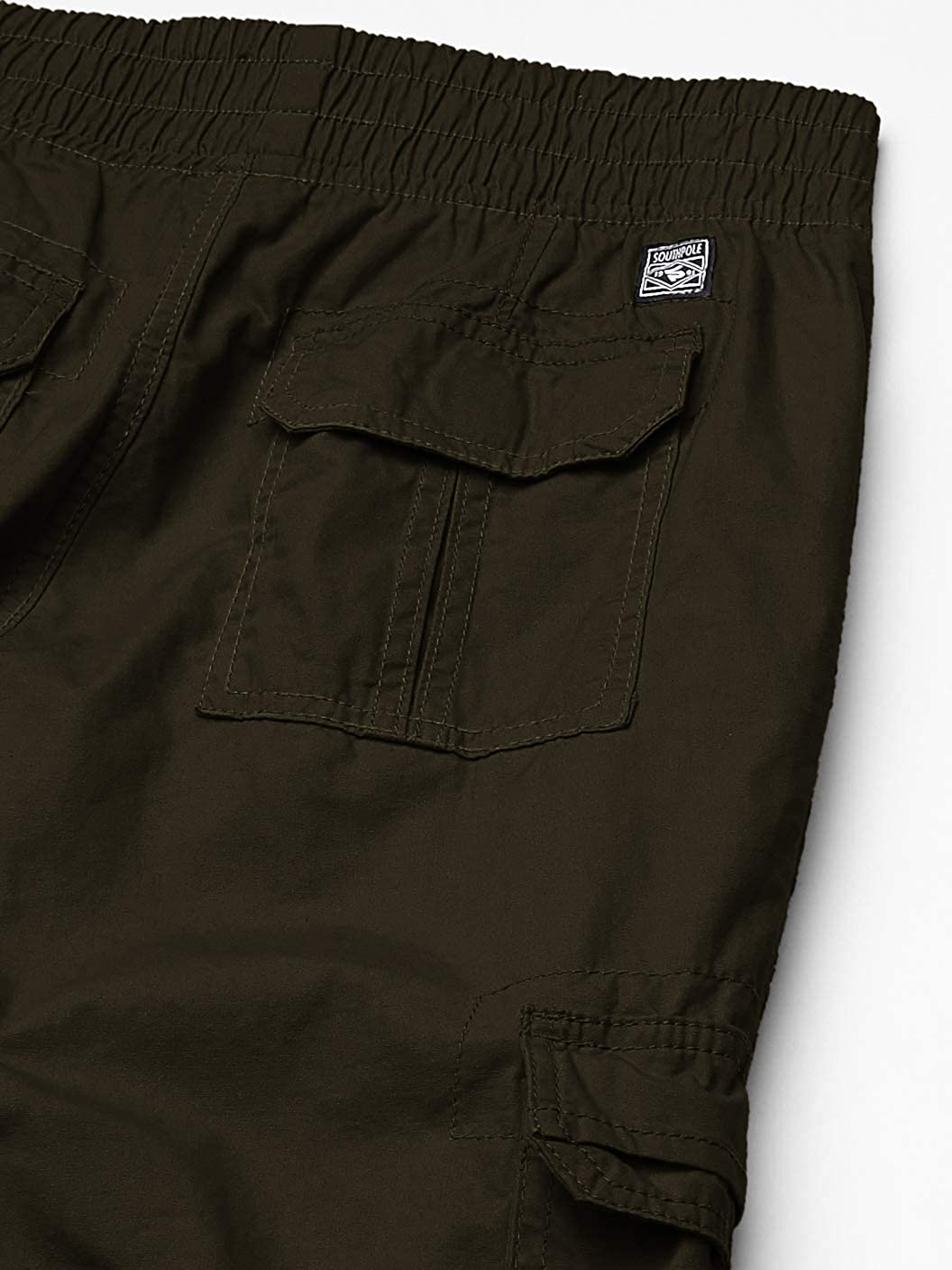 Southpole Boys Belted Mini Canvas Cargo Shorts in Various Colors