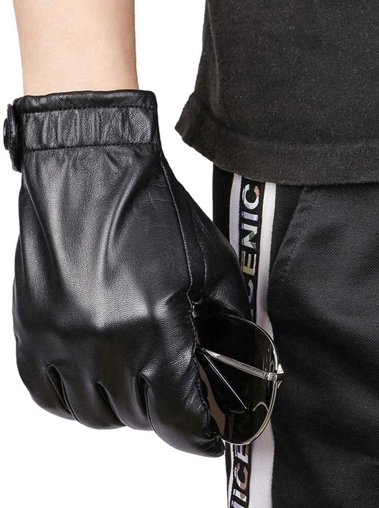 ACCDUER Men's Gloves Oakland Mall Leather Motorcycle Driving Thin Sect online shop
