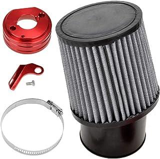 HIAORS Air Filter With Adapter Kit for 6.5 HP Honda Clone...
