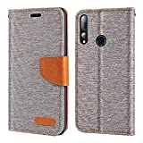 HTC Desire 19 Plus Case, Oxford Leather Wallet Case with