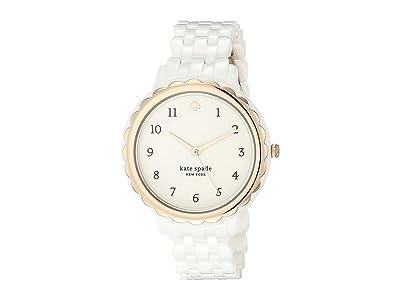 Kate Spade New York Morningside Ceramic Watch KSW1585 (White) Watches