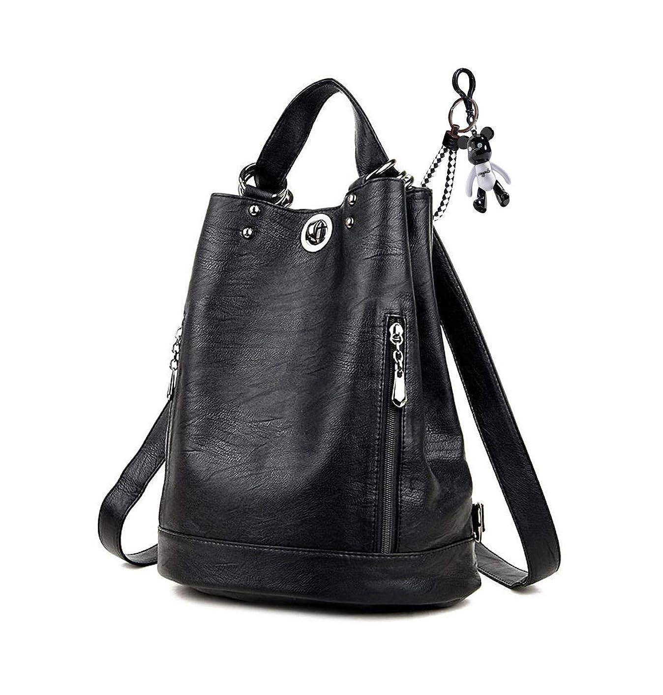性能穏やかな早いAINUOEY レディース リュック ミニ バックパック PUレザー ポシェット Mini Rucksack Pack Bag for Women