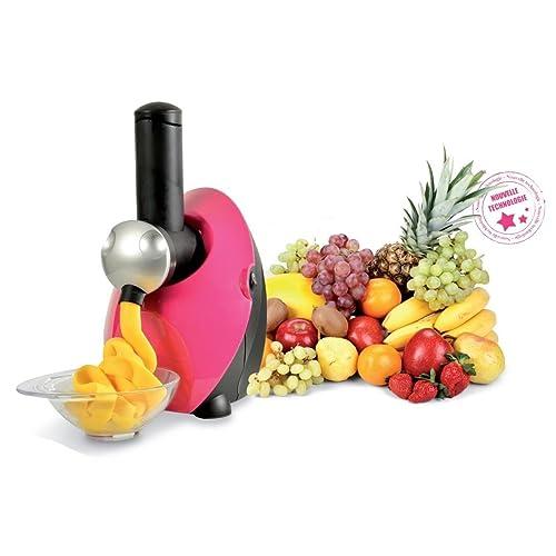 Kitchen Chef FDM1301P Frutimix Appareil à Fabriquer des Desserts Glacés Fuchsia