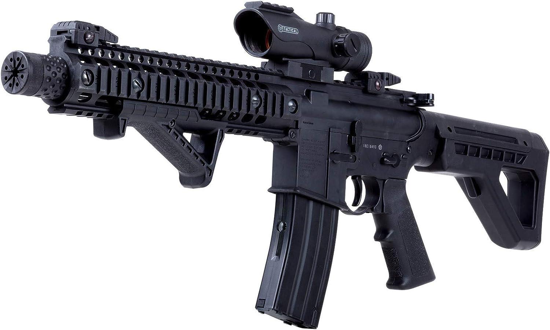 Crosman DPMS SBR Full-Auto Max 78% OFF BB Black Air Great interest Kit Rifle kit