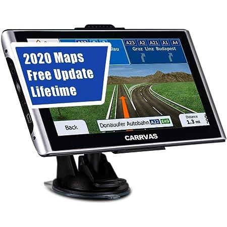 GPS para Coches con 10 Pulgadas Pantalla LCD,con Tr/áfico Y Alerta De Radares,Actualizaciones De Mapas De Europa,Aplicar para Toyota Tacoma 2005-2013