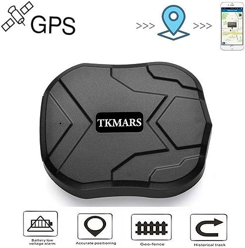 Hangang GPS Tracker ,GPS Tracker per Auto Forte Magnetico 3 mesi di GPS Inseguitore Ricaricabile Standby per il Veico...