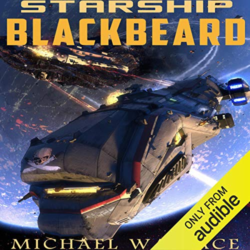 Starship Blackbeard audiobook cover art