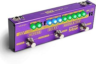 Valeton Multi Effects Guitar Bass Pedal Dapper MDR Digital Chorus Modulation Delay Reverb