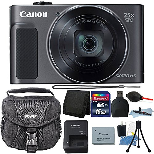 Canon PowerShot SX620 HS 20.2MP 25X Zoom WiFi...