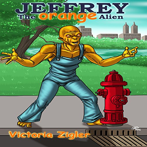 Jeffrey the Orange Alien audiobook cover art