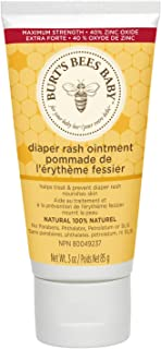 Burt's Bees Baby 100% Natural Diaper Rash Ointment – 3 Ounce (Pack of 1)