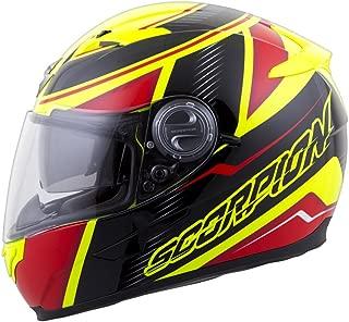 Scorpion EXO-500 Corsica Red/Neon Yellow Full Face Helmet - X-Small
