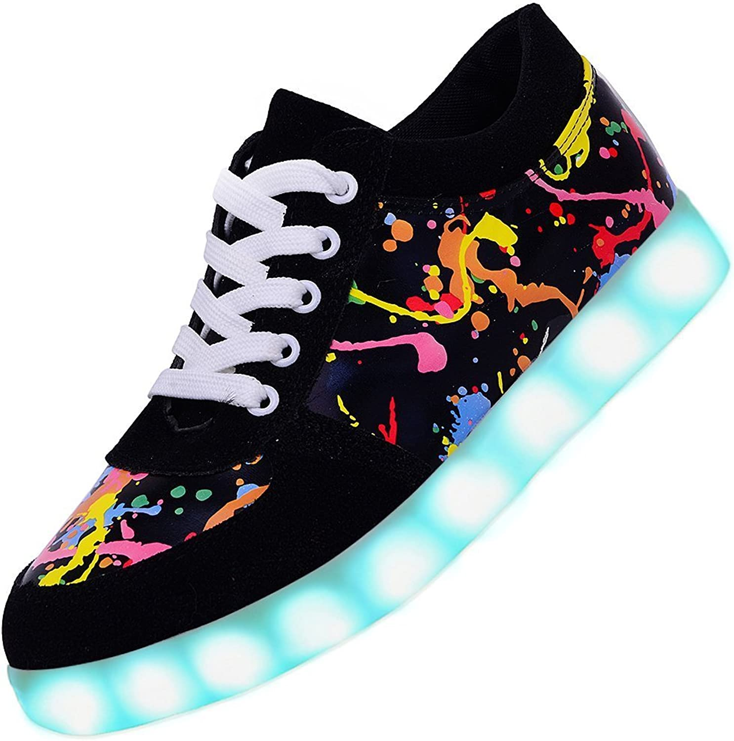 Led Light Up shoes Fashion Breathable Sneaker for Women
