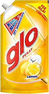 Colgate-Palmolive Glo Pekat Dishwashing Liquid Refill, 850ml, Lemon