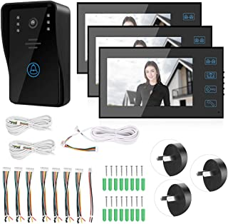 System Rainproof Door Viewer, Door Chime, Wired Office for Apartments Public Buildings Home Security System(Australian reg...