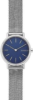Skagen Signatur Women's Blue Dial Stainless Steel Analog Watch - SKW2759