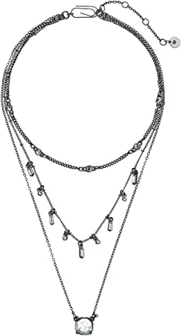 Layered Choker Necklace 11""