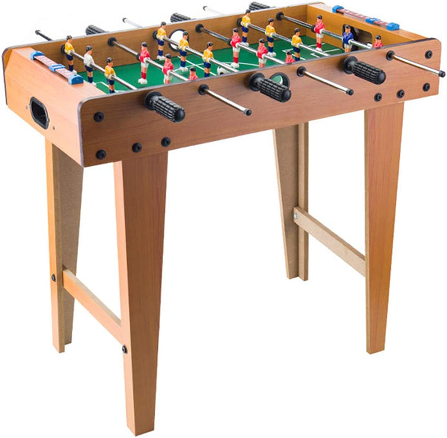 Zgifts Tabletop Foosball Table Games - Standing Mini Table Soccer Sport Game Set Room Sports with Long Legs for Home Party Adults Kids,Longlegs