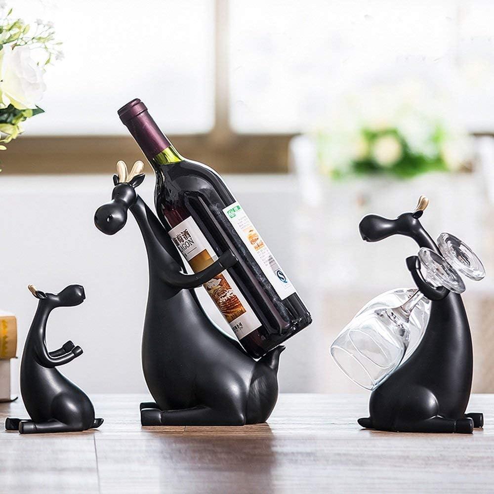 FMOGE Wine Rack Home Practical Resin Creative Racks Modern Outstanding OFFicial site