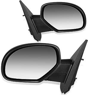 CTCAUTO Right Side View Mirror Passenger Side Mirror Compatible with Chevy Avalanche 1500 Silverado 1500//2500//3500 Suburban 1500//2500 Tahoe GMC Sierra 1500//2500 Yukon Power Heating GM1320325