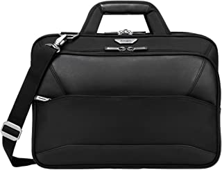 Targus Mobile VIP Checkpoint Friendly Topload Case for 15.6 Inch Laptops, SafePort Sling Drop Protection, Black (PBT264)