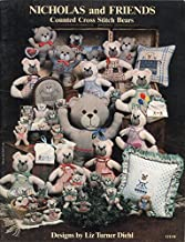 Nicholas and Friends: Counted Cross Stitch Bears