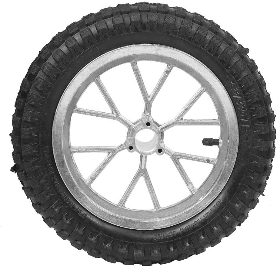 Senyar 12.5 x 2.75in Milwaukee Selling Mall Motorcycle Rea Rubber Tire Front
