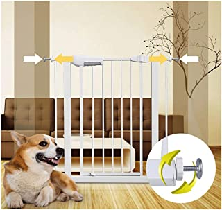 Telescopic Baby Gates for Stairs Fence Pet Isolation Door Fence Free Punching Dual Lock Self Closing